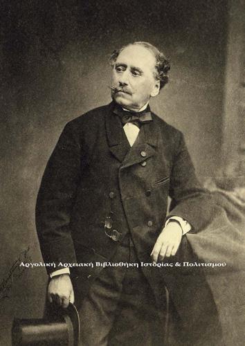 Δημήτριος Καλλέργης. Φωτογραφία του Γάλλου André-Adolphe-Eugène Disdéri (1819-1890), Παρίσι 1865.