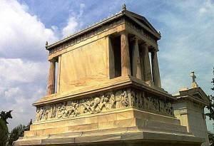 Ταφικό μνημείο Ερρίκου Σλήμαν ( 1882 - 1890 )