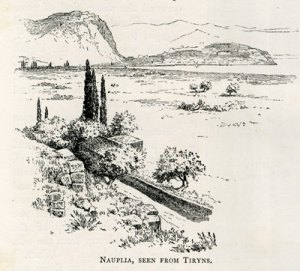 Nauplia, Seen From Tiryns.