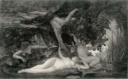 Hylas and the Water Nymphs του Edouard Theophile Blanchard.
