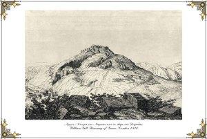 Άργος. Άποψη της Λάρισας από το λόφο της Δειράδας 1810.