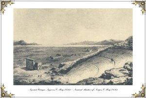 Αρχαίο Θέατρο Άργους, E. Rey 1843
