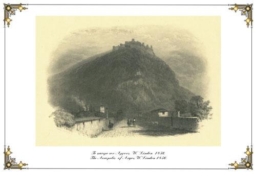 Το κάστρο του Άργους, W. Lindon 1856.