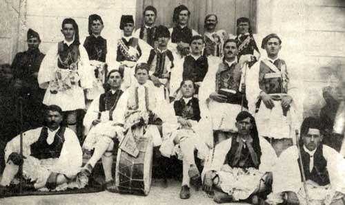 Απόκριες στο Κατσίγκρι 1933