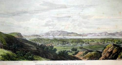 Γενική άποψη της Τίρυνθας και η κοιλάδα του Άργους.
