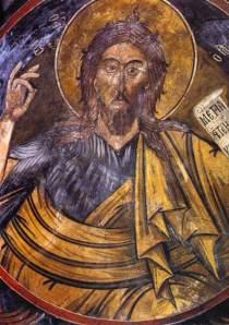 Μονή Πετράκη. Καθολικό. Άγιος Ιωάννης ο Πρόδρομος