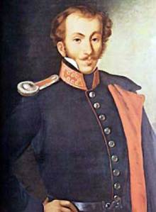 Δημήτριος Υψηλάντης (1793-1832) - Έργο του Σπυρίδωνος Προσαλέντη
