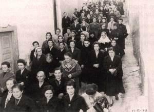 Περιφορά της Εικόνας του Αγίου Σπυρίδωνα 1966.