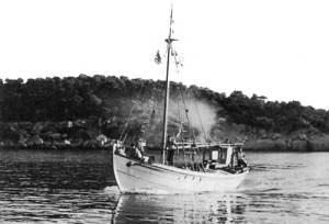 Ψαράδικο καΐκι 1944.