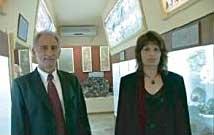 Ιδρυτές του Μουσείου. Βασίλειος Ν. Κωτσιομύτης & Αναστασία Σαρρή-Κωτσιομύτη.