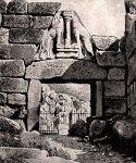 Μυκήνες – Η πύλη των Λεόντων (Αχρονολόγητηφωτογραφία).