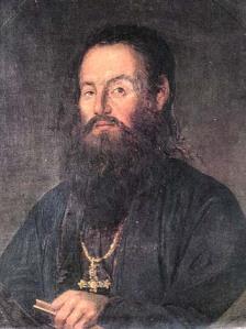 Πορτραίτο του Άνθιμου Γαζή.