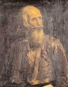 Ο στρατηγός Μακρυγιάννης σε μεγάλη ηλικία.