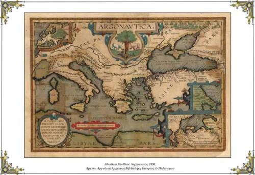 Abraham Ortelius:  Argonautica (1598)