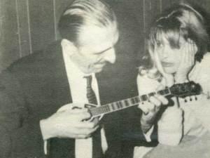 Με τη Μελίνα Μερκούρη.