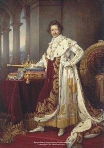 Ludwig I of Bavaria πορτρέτο του Ζόζεφ Στίλερ, 1825.