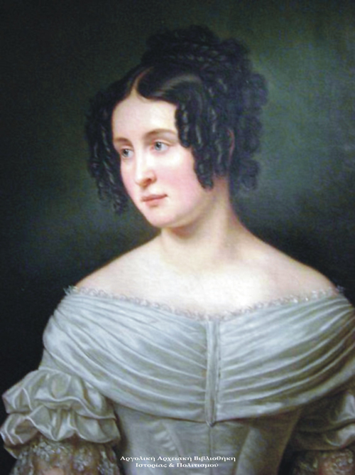 Therese Charlotte Luise of Saxony-Hildburghausen, μητέρα του Όθωνα.