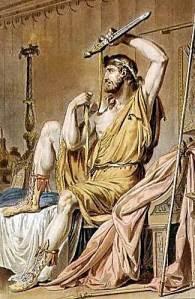 """Philippe Chery, """"Costume for Agamemnon"""" (1802)."""