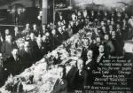 Δείπνο προς Τιμή του Αναστασίου Σκούμπη από τους πρώην μαθητές του. Chicago1920.