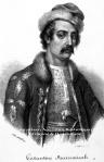 Μαυρομιχάλης Κωνσταντίνος, λιθογραφία1841.