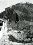 Το Παλαμήδι και αριστερά κάτω, τμήμα του παλαιού Στρατιωτικού Νοσοκομείου, δεκαετία1930.