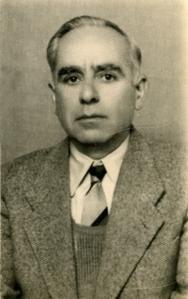 Ο Κ. Δωροβίνης το 1958