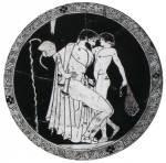 Άνδρας διεγείρει ένα αγόρι. Μουσείο Ashmolean, Οξφόρδη. Γύρω στα 480π.χ.