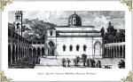 """Το Μοναστήρι της Κοίμησης της Θεοτόκου, τέλη 18ου αιώνα. Castellan """"Lettres sur la Morée"""", Paris1808."""