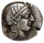 Αργυρό τετράδραχμον Αθηνών (440 – 420π.χ.)