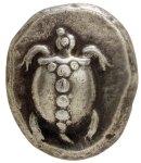 Αργυρός στατήρας Αίγινας (480π.χ.)