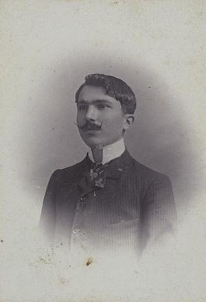 Ο Νίκος Καζαντζάκης, φοιτητής στην Αθήνα, 1904. Αρχείο: Εκδόσεις Καζαντζάκη.