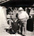 Μπερμπάτι. Η Κωνσταντίνα Μπελεσιώτη του Γεωργίου και ο Axel Persson στην Παναγία. 1937 (ΑρχείοΜπερμπάτι).