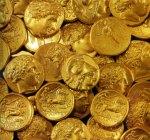 Χρυσοί στατήρες Φιλίππου Β΄ και Αλεξάνδρου Γ΄ από το θησαυρό της ΑρχαίαςΚορίνθου.