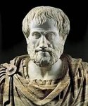 Ο ανδριάντας του Αριστοτέλη, στον φυσικό του χώρο, στο Αριστοτέλειο ΠανεπιστήμιοΘεσσαλονίκης.