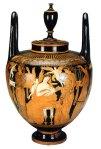 Εικ. 2. Επαύλια. Ερυθρόμορφος γαμικός λέβητας του Ζωγράφου του Μαρσύα, πηλός, 360-355 π.χ. Μουσείο Ερμιτάζ, ΑγίαΠετρούπολη.