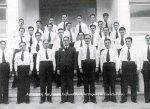 Μέλη της Ναυπλιακής Χορωδίας με τον Μαέστρο Β. Χαραμή το έτος1935.