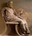 Ανάγλυφο του Ασκληπιού από την Επίδαυρο, 4ος αιώναςπ.χ.