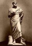 Σοφοκλής, αντίγραφο ανδριάντα του 4ου αιώνα, ο λεγόμενος Σοφοκλής του Λατερανού, ΜουσείοΒατικανού.