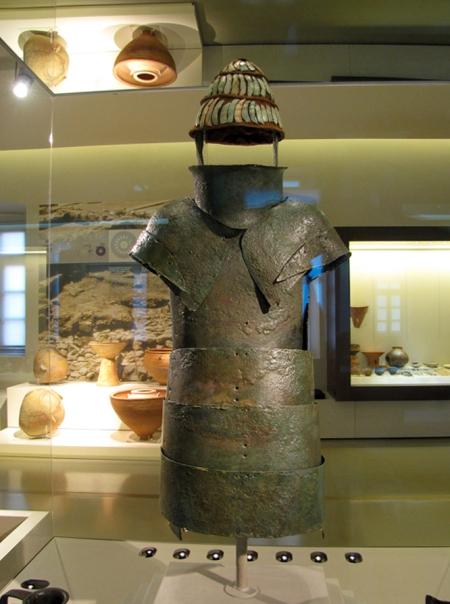 Πανοπλία των Δενδρών - Αρχαιολογικό Μουσείο Ναυπλίου