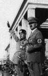 Μουσολίνι και Χίτλερ