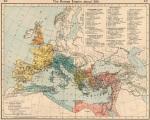 Ρωμαϊκή αυτοκρατορία το 395 μ. Χ. (Historical Atlas by William R. Shepherd,1911).