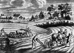 Αγροτικές εργασίες, αγνώστου,1750.