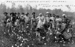 Συλλογή βαμβακιού, Μισισιπής, 1908. Βιβλιοθήκη τουΚογκρέσου.