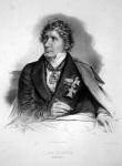 Φραντς Καρλ Λέο φον Κλέντσε, Λιθογραφία, περίπου1858.