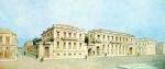 Το κτίριο της Εθνικής Τράπεζας κατά τον 19οαιώνα.