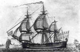 Γαλιότα. Πλοίο της Μεσογείου με πανιά ή κουπιά που χρησιμοποιήθηκε κυρίως από τους πειρατές της Μάνης και τους Αλγερινούς. (Φωτογραφία από την ιστοσελίδα «Μανιάτικα»).
