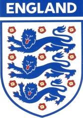 Το σύμβολο της εθνικής ομάδας ποδοσφαίρου της Αγγλίας φέρει τους τρεις λέοντες (αναφέρονται και ως λεοπαρδάλεις) που εμφανίζονταν κατά τον Μεσαίωνα στον θυρεό των Άγγλων βασιλέων.