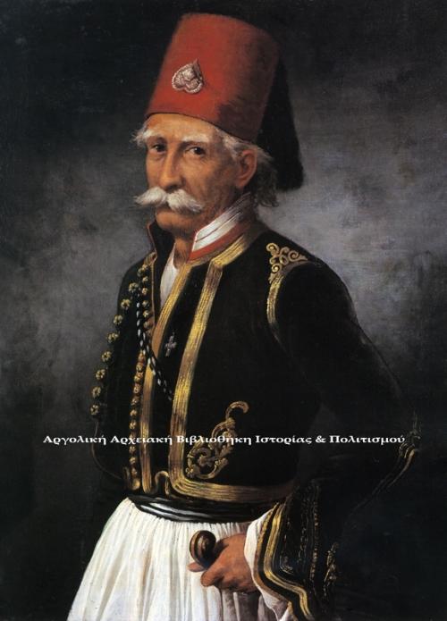 Προσωπογραφία του αγωνιστή Παναγιώτη Γιατράκου, έργο του Σπυρίδωνα Προσαλέντη. Εθνική Πινακοθήκη και Μουσείο Αλεξάνδρου Σούτζου, Παράρτημα Ναυπλίου.