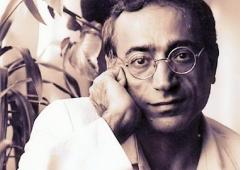 Ο Ιρανός ποιητής Φερεϊντούν Φαριάντ