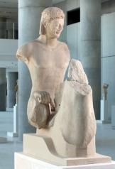 Ο «Ιππέας Rampin». Μουσείο Ακρόπολης.